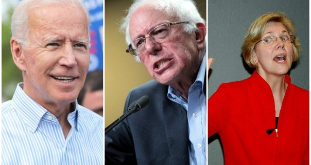 Democrats Knives Officially Out And Want Bernie To Sit Down And Shut Up Out Of Fear That He's Going Take The 2020 Democrat Nomination From Biden