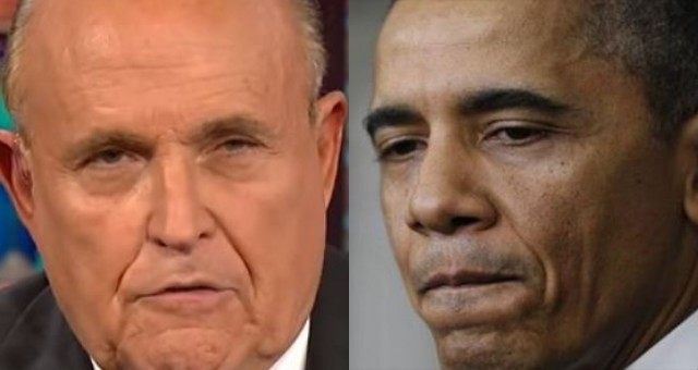 Giuliani Goes On The Warpath Against Obama And Says He's Ready To Let Loose On Some Secret Bombshells