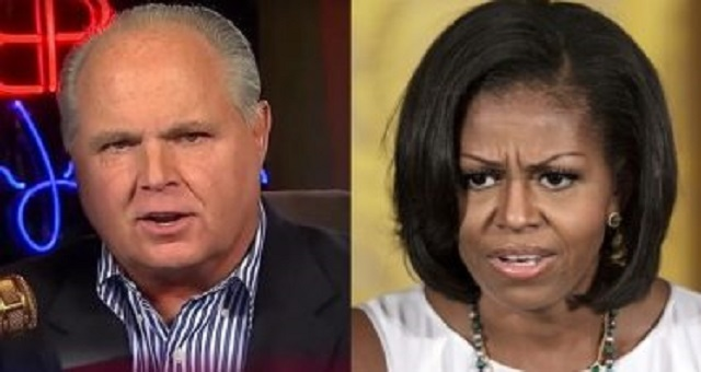 WHOA: Rush Reveals Michelle's PERVERTED Past After She Trashes Trump