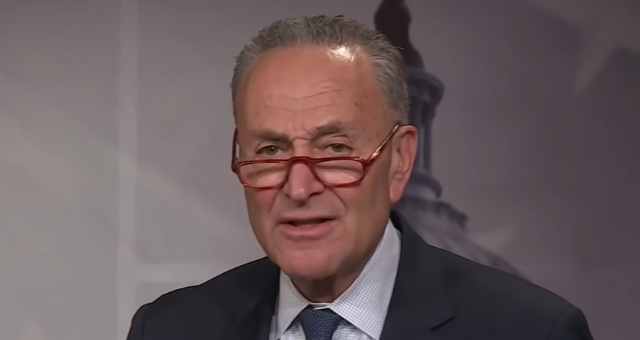 Democrats, Led By Schumer, Want To Amend The 1st Amendment To Censor Speech They Don't Like