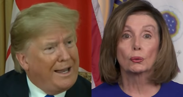 "President Trump: ""I Think Nancy Pelosi Has Lost Her Mind"""