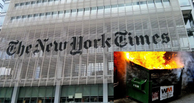 NYTimes And DS Strike Again After Failed Ukraine Conspiracy And Have A 'New' Way To Try To Take Out Trump