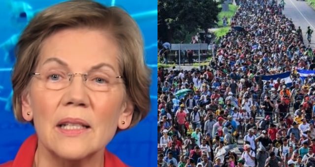 Warren Tries To Secure Latino Vote By Lying About What She Will Do For Illegal Aliens That Goes Against The Constitution