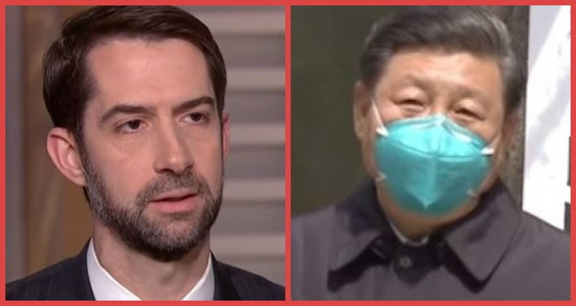 Senator Tom Cotton Is Fighting Mad, Writes Scathing Op-Ed For Fox News Exposing China, Calls On US To Stop Reliance On Communists For Drugs