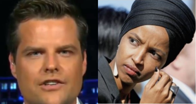 Matt Gaetz Dismantles Ilhan Omar On Twitter After She Tries To Defend Hundreds Of Millions For Refugees & Migrants
