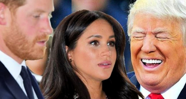 After Fleeing To The US, Despite Promising Not To B/c Of Trump, POTUS Crushes Harry & Meghan In Perfect Tweet