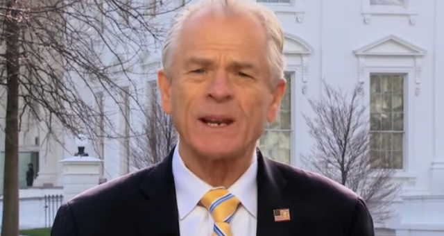White House Trade Adviser Navarro Blasts 'Swamp Creatures' And 'Big Pharma' For Ignoring Trump's 'Buy American' Order To Reestablish U.S. Medical Supply Chain