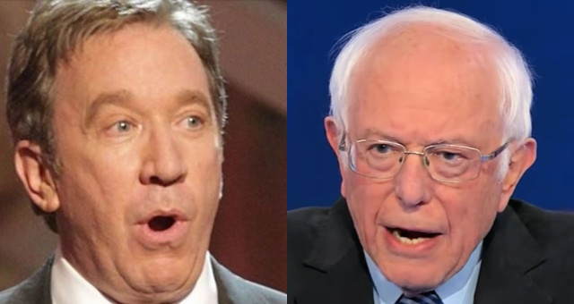 Tim Allen Exposes Bernie Sanders & How Dangerous He Really Is By Reminding America What Socialism Really Is
