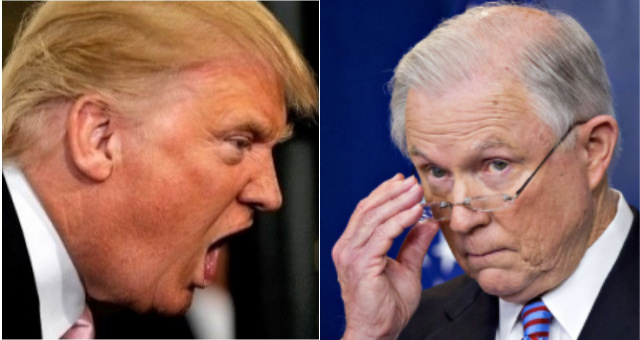 President Trump Just Ripped Jeff Sessions To Shreds On Twitter After Embarrassing Senate Primary Performance