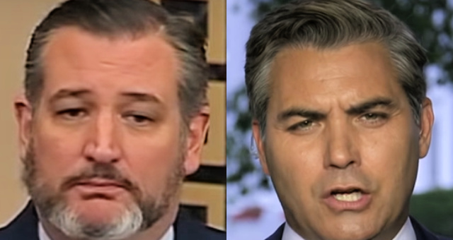 Sen. Ted Cruz Fires Back At CNN's Acosta Over Trump Press Briefing: 'You're Supposed To Be Journalists, not CCP propagandists'