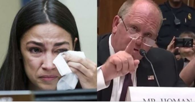 Ocasio-Cortez Left Speechless, Embarrassed, After Trying To Punk ICE's Fmr Acting Director