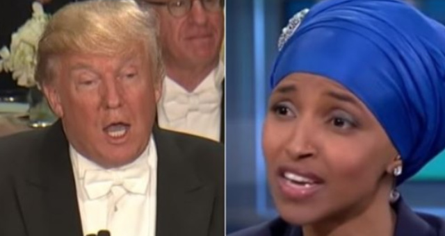 Trump Trolls Ilhan Omar And Uses Her Own Words To Completely Destroy Her