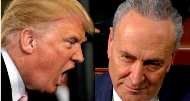 "Trump BLASTS Cryin' Chuck Schumer In Letter… ""I've Known You For Many Years, But I Never Knew How Bad a Senator You Are"""
