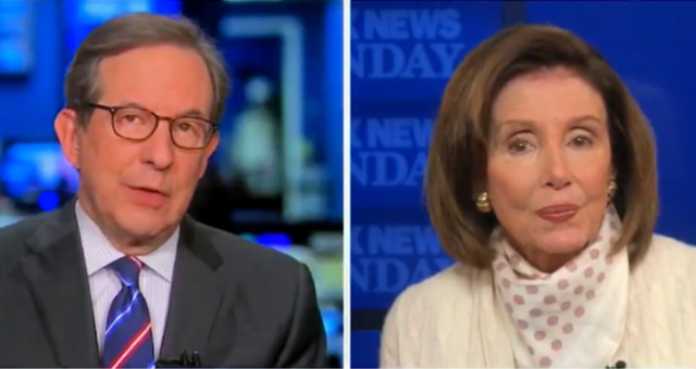 Chris Wallace Puts A Stunned Pelosi On BLAST For Pushing Tourism To Chinatown In Late February (VIDEO)