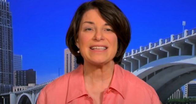 Amy Klobuchar Threatens Republican Colleagues With Her 'Wrath' If They Don't Cave To Vote-By-Mail Demands