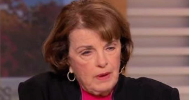 Sen. Dianne Feinstein Shows How Much Of A Hypocrite She Is In Latest Statement And It's A Total Disgrace