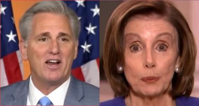 "Kevin McCarthy Sends Brutal Message To Pelosi She Can Never Ignore ""Trump Will Be Acquitted For LIFE"""