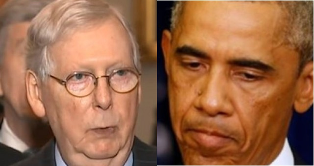 Mitch McConnell Gets Fed Up And LEVELS Barack Obama During Interview: 'He Should Have Kept His Mouth Shut'…