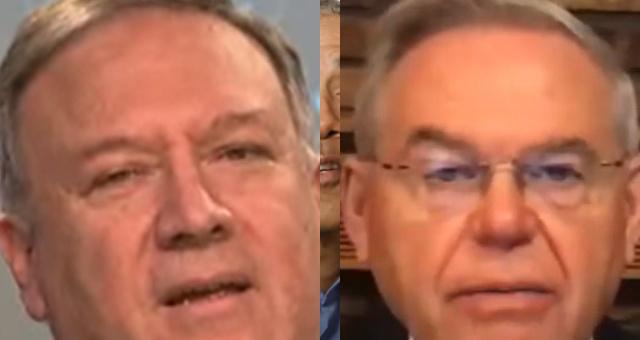Mike Pompeo BLASTS Dem Sen. Menendez Over IG Firing: 'I Don't Look To Him For Ethics Guidance'