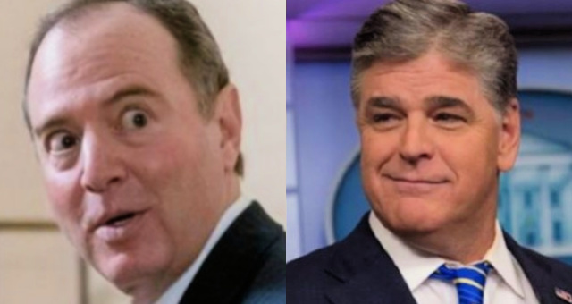 """Tick-Tock"": Sean Hannity Warns 'Panicked' Adam Schiff Over 'Possible Crimes'"