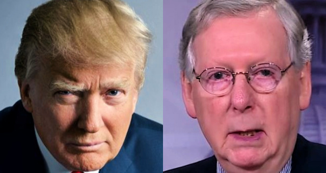 Just In: Trump Warns McConnell That Time Is Running Out, It's Time To Arrest Colluders Now