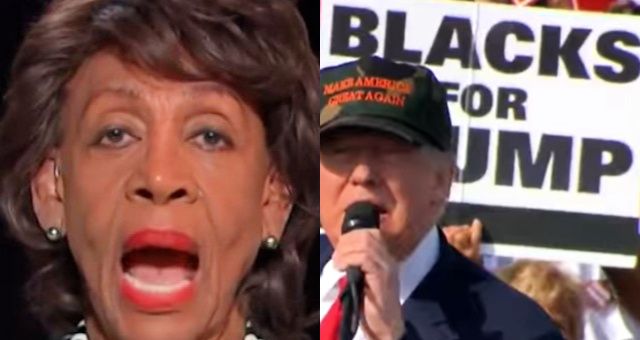 "Maxine Waters Goes After Trump Supporters: Calls Trump Rallies ""White Power Pep Rallies"""