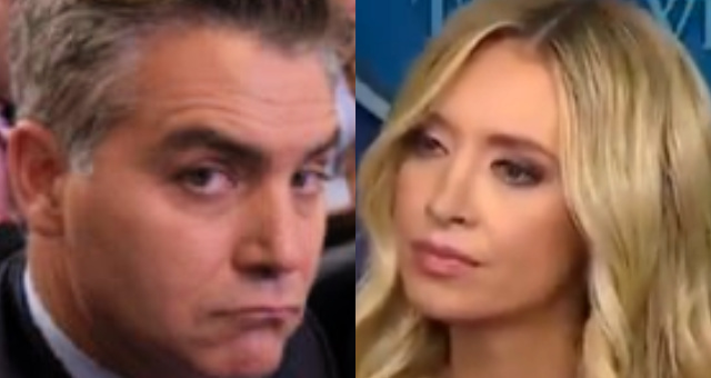 Jim Acosta Criticizes Police, Kayleigh McEnany Says 'Maybe You Should Respect People Who Defend You Every Day'