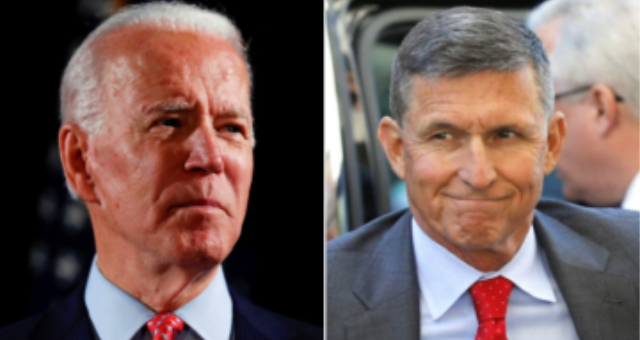 BOMBSHELL: Handwritten Strzok Notes Show Comey Saying Flynn Call Was 'Legit,' Biden Suggests 'Logan Act' Anyway