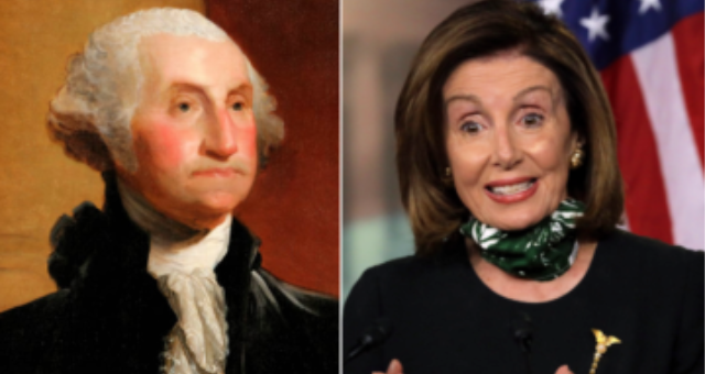 Pelosi: Let's 'Review' Taking Down Statues of George Washington and Thomas Jefferson
