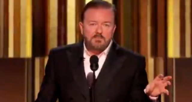 Ricky Gervais Obliterates Celebrities For Cringeworthy 'I Take Responsibility' Racism PSA