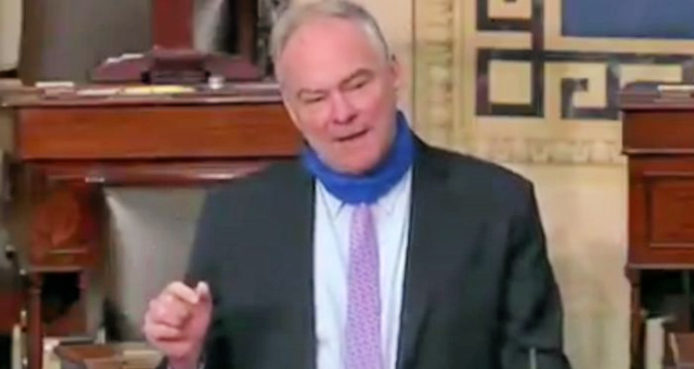 "Democrat Senator Tim Kaine Re-Writes World History: ""The United States didn't inherit slavery from anybody. We created it."" [VIDEO]"