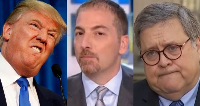 Trump Demands Chuck Todd Be Fired After NBC Admits To Deceptively Editing Video Of AG Barr
