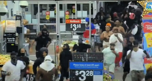 """Justice For George""? Stunning Police Surveillance Video Shows Looting Of $100k At Florida Walmart…The Left Justifies It"