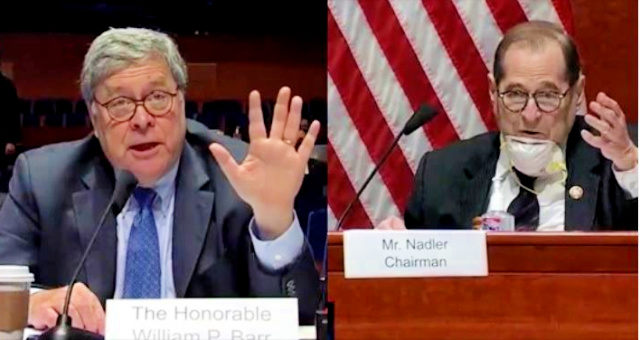 AG Barr ROASTS Nadler After Jerry Exposes Himself As A Complete & Total Tyrant, The Prototypical 'Karen' As He Attempts To Refuse To Let AG Barr Take A 5 Min Break