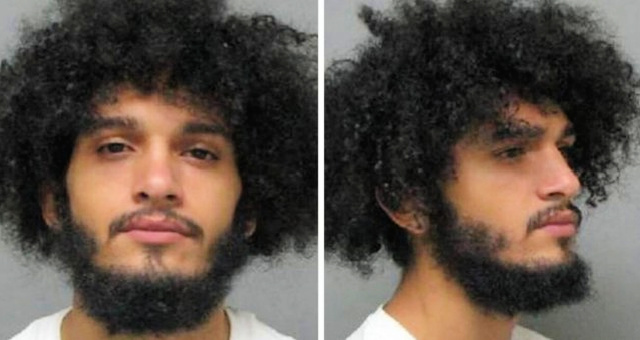 BREAKING: BLM Thug Who Held His Knee On White Crying Baby's Neck Arrested And Jailed- Mugshot Released
