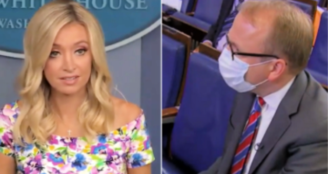 Reporters Get Absolutely Flattened By Kayleigh McEnany After They Attack President Trump's Comments