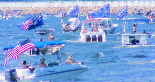 Video: After Social Media Giant Rejects An Ad For The Event, Thousands Head To North Carolina's Lake Norman For Boat Parade In Support Of President Trump