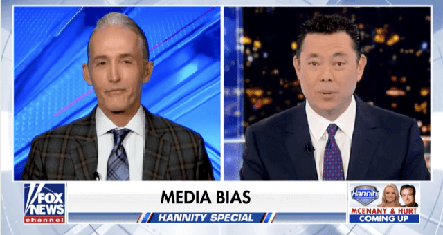 Gowdy And Chaffetz Team Up And EXPOSE The 'Mainstream' Media's Double Standards Live On National T.V.
