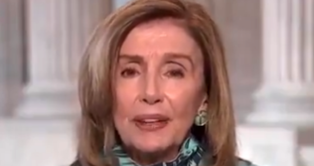 "Unhinged Pelosi: President Trump And Republicans In Congress Are ""Domestic Enemies To Our Voting System"" And ""Enemies Of The State"" [VIDEO]"