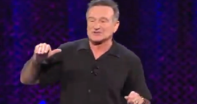 "Video of Robin Williams Torching ""Rambling"" Joe Biden Goes Viral And It's EPIC"