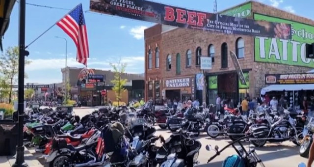 Badass Bikers Storm Into Sturgis For Annual Motorcycle Rally With A Message Liberals Will Not Like