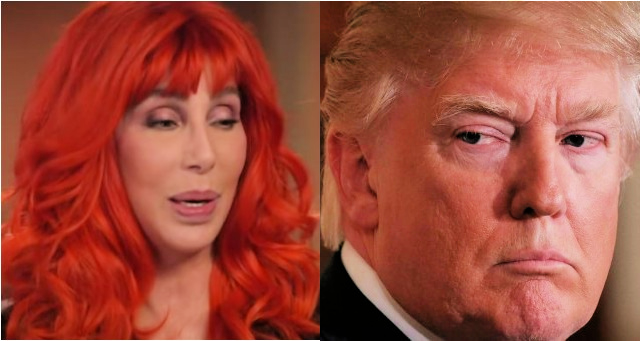 "Washed Up Liberal Hack, Cher, Attacks President Trump And Says He's A ""Mass Murderer, The Punishment Is Death"" Then Immediately Deletes It"