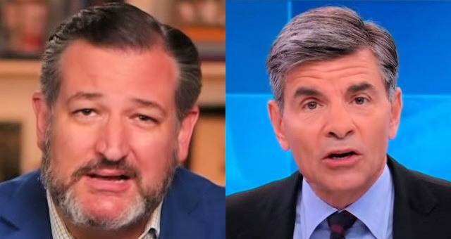 Senator Ted Cruz Makes Smug Stephanopoulos Eat His Hat After ABC Hack Attacks Cruz, Senator Ted Tells Him 'I Believe' The Nominee WILL Be Confirmed