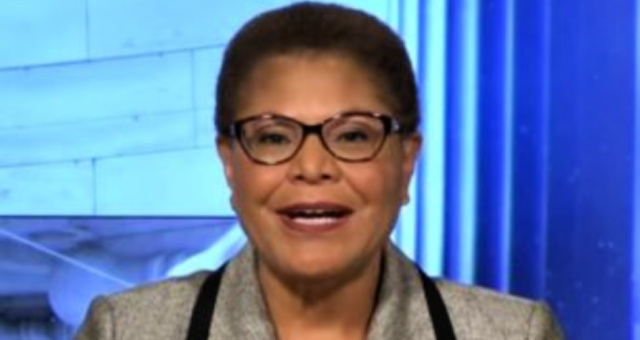 """Rep. Karen Bass (D-CA) """"White Supremacist Groups Will Infiltrate Peaceful Protests And Cause Violence!"""""""