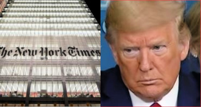 "New York Times Is At It Again With Latest Garbage Piece Saying, ""More Than Ever, Trump Casts Himself as the Defender of White America"""