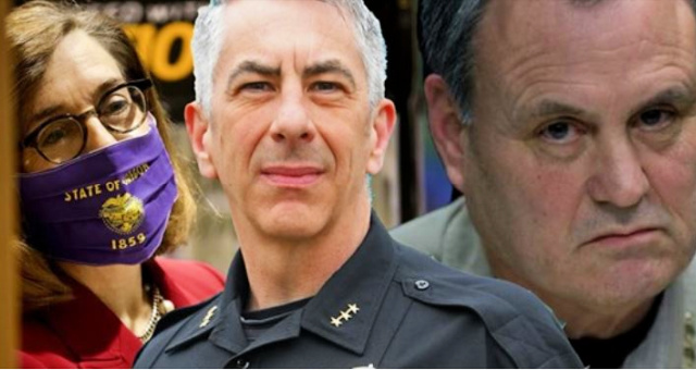Oregon's Dem Gov Orders More Cops To Portland, Sheriffs Tell Her To Pound Sand
