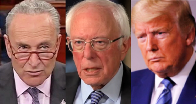 Chuck Schumer Backs Bernie Sanders Radical Plan To Remove President Trump From Office If He Loses