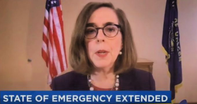 JUST IN: Oregon Governor Extends State Of Emergency Until Election Day