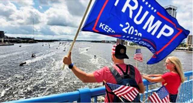 """Trump Fans Will Rock D.C. Swamp With Huge """"Trumptilla"""" On Potomac River Over Labor Day Weekend"""