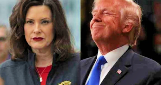 Michigan Gov, Wicked Whitmer, Condemns Trump's Campaign Event… But Was Fine With Biden Event A Day Earlier